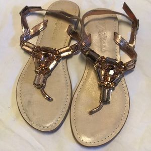 Matisse Rose Gold Sandals
